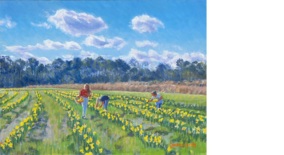 Lovely_Daffodils_Painting